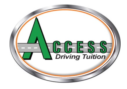 Access driving lessons logo intensive course page